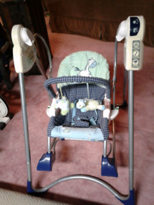 Fisher Price -Smart Stages 3 in 1  Rocker Swing