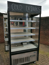 Polar commercial multideck drinks or food display chiller fully workin