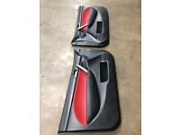 Honda civic ep3 rare leather door card