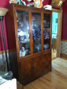 Walnut Cabinet for sale, excellent condition