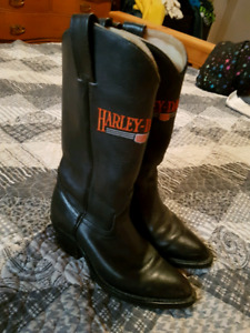 Harley Davidson cowboy boots and others