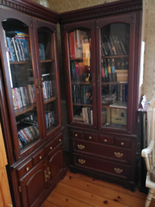 Cabinet Light Shelves with Drawers