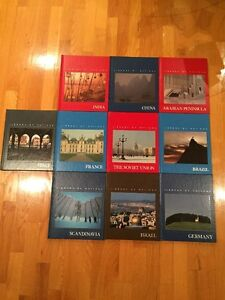 """10 books from the Time Life Books """"Library of Nations"""" series"""
