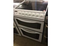 Electrolux white Electric Cooker With top facing controls