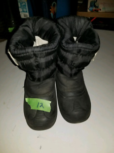Boys Size 12 Winter Boots (Lot 2)