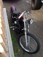 Harley bobber / custom