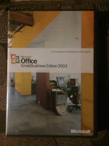 Microsoft Office for Small Business 2003 (old version)