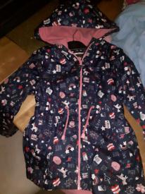 Girl's coat age 7-8 years
