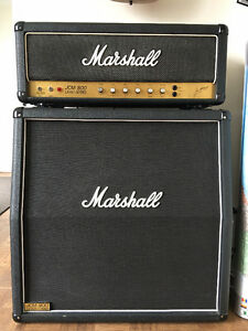 Marshall 2203 CSA modèle canadien original 1982 avec bottom 4x12