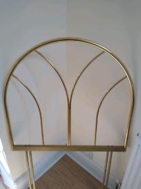 Brass bed head
