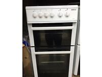 Beko 50 cm electric cooker in good working order with a three months warranty