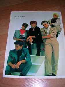"""1980's 8x10 picture #2 of """"Duran Duran"""" sold in record stores."""
