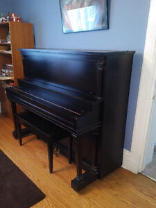 Piano - black Mason-Risch full size