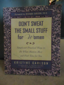 DONT SWEAT THE SMALL STUFF FOR WOMAN