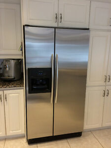 "KITCHENAID 36"" side by side refrigerator West Island Greater Montréal image 1"