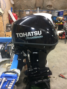50HP Tohatsu DEMO For Sale - 2016