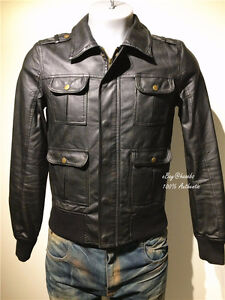 JAPANESE FASHION N.HOLLYWOOD MEN LEATHER JACKET