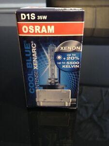 Osram CBI 5500k Cool Blue D1S Original xenon dealer bulbs SALE!!