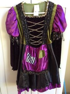 Girls Size 8-10 Witch costume