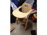 High Chair - East Coast