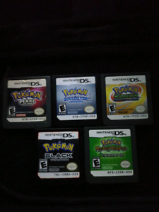 Pokemon DS games trade for 3DS titles.