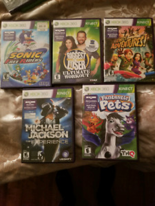 Xbox 360 games and kinect one
