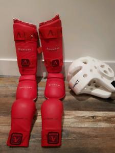 Protecteurs pour sports martiaux
