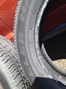 """4-19"""" Bridgestone Dueler Tires"""