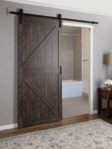 Interior Barn Door build/install