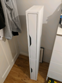 IKEA EKBY ALEX White shelf with brackets 119x29 cm