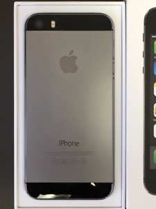 iPhone 5S 16gb locked to Bell Black/Space Grey