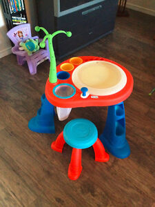 Activity table and stool
