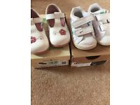 SIZE 3 START RITE AND NIKE SHOES