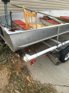 12 foot includes life jackets addles motor and battery