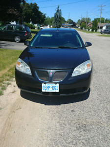 Pontiac g6 low kms safetied and etested