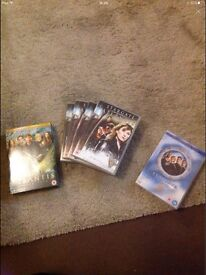 Stargate and Stargate Atlantis DVD selection