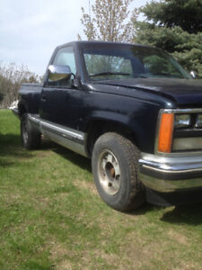 1989 gmc short box stepside