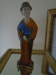 Authentique  FIGURINE  de Chine  /chinese  doll porcelaine
