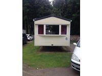 Caravan for rent at haggerston castle