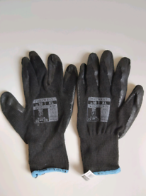 Black Grip Gloves Size X-LARGE