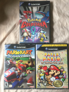 Gamecube Games for Sale - Booklets and Cases Included!