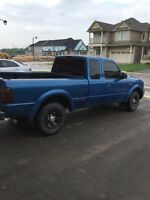 2000 ford ranger parts truck