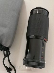 Magnicon 70-210 Macro lens with case