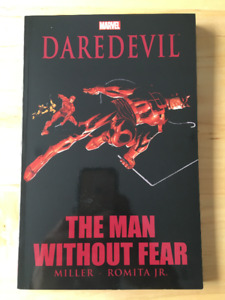 Daredevil: The Man Without Fear comic book/trade paperback