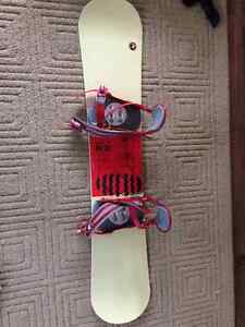 Perfect board and bindings for the first time boarder