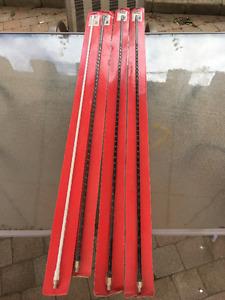 Highway Man 4' Fiberglass CB antenna 500 watts