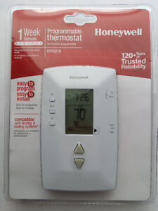 Honeywell Programmable Electronic Thermostat
