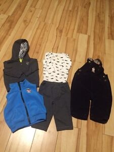 BOYS 0-6 WINTER LOT