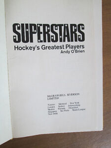 Superstars - Hockey's Greatest Players by Andy O'Brien