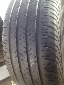 Set of 4 Continental  Summer tires 235/55/17